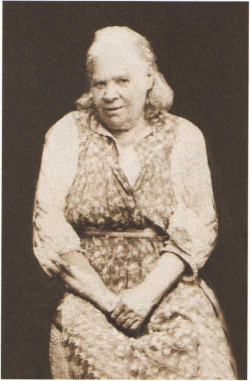 Блаженная Параскева. Фото нач. XX в.
