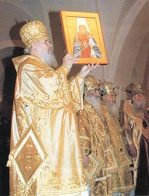 Прославление священномученика митрополита Серафима (Чичагова) в Храме Христа Спасителя
