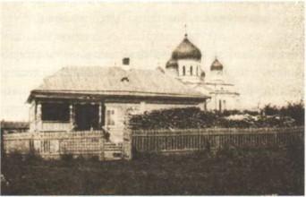 Келия блаженной Параскевы у южного входа в Дивеевский монастырь