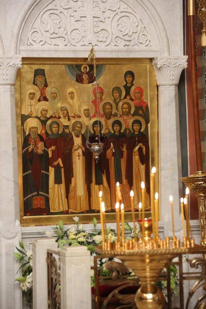 Икона Всех Дивеевских Святых