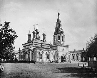 Церковь мчч. Адриана и НАталии в Мещанской слободе