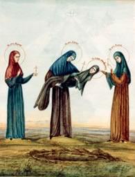 Прпмц. Евдокия, мцц. Дария, Дария и Мария